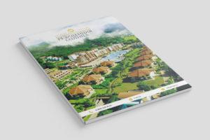 Разработка макета фирменной папки для коттеджного поселка Резиденция Солнца
